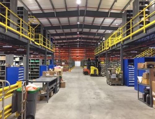 Large Utility Company Warehouse Design & Installation