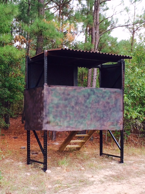 Pallet Rack Deer Blind