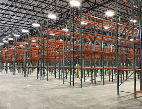 Morrisette Paper & Packaging Pallet Rack System